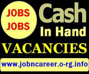 CASH IN HAND Vacancies (Staff Required)